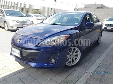 Mazda 3 Sedan s usado (2012) color Azul Indigo precio $150,000