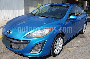 Mazda 3 Sedan s usado (2011) color Azul Celeste precio $145,000
