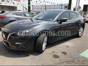 Foto venta Auto usado Mazda 3 Sedan s (2016) color Gris Titanio precio $225,000