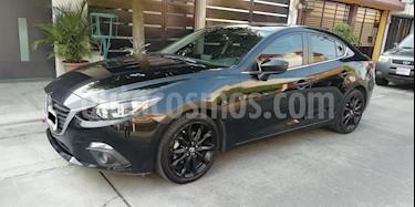 Mazda 3 Sedan s usado (2015) color Negro precio $197,000