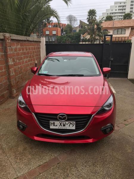 Mazda 3 Sport 2.0L SR Aut   usado (2016) color Rojo precio $9.600.000