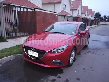 Mazda 3 1.6 S Aut  usado (2015) color Rojo precio $8.200.000