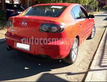 Mazda 3 1.6 S  usado (2007) color Rojo precio $3.600.000