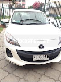 Mazda 3 1.6L S usado (2013) color Blanco Perla precio $6.300.000