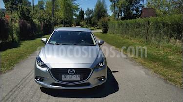 Mazda 3 2.0L V  usado (2017) color Plata precio $9.500.000