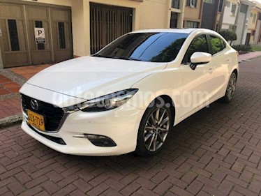 Mazda 3 Sedan 2.5L Grand Touring Aut    usado (2017) color Blanco precio $50.000.000