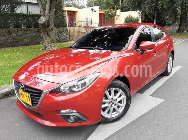 Mazda 3 2.0L Sport Aut usado (2017) color Rojo precio $48.500.000