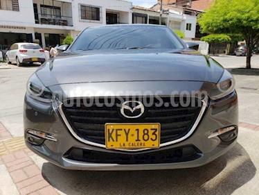 Mazda 3 Grand Touring Aut    usado (2017) color Gris Meteoro precio $45.000.000