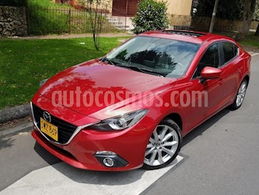 Mazda 3 2.5L Grand Touring Sport Aut   usado (2016) color Rojo precio $54.500.000