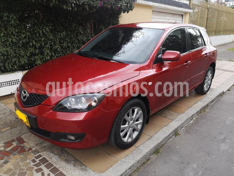 Mazda 3 1.6L  usado (2008) color Rojo precio $19.500.000