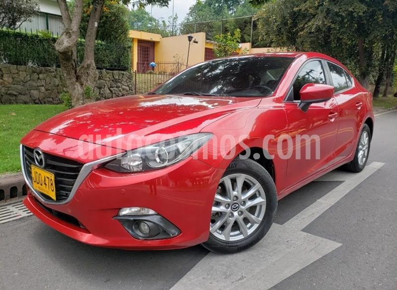 Mazda 3 Touring   usado (2017) color Rojo precio $51.400.000