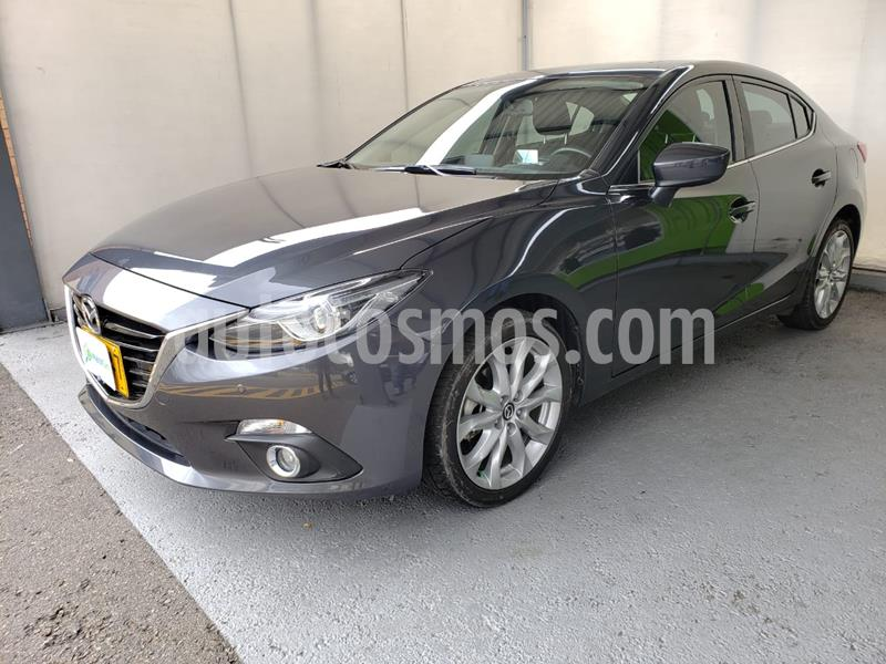 Mazda 3 Grand Touring Aut   usado (2016) color Gris Meteoro precio $52.990.000