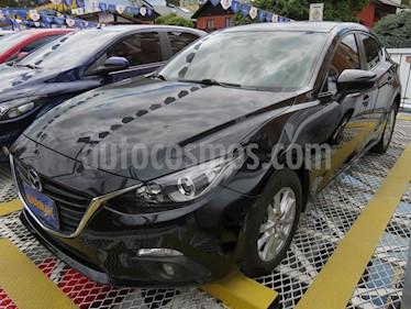 Mazda 3 Sedan 2.0L Prime Aut usado (2015) color Negro precio $49.900.000