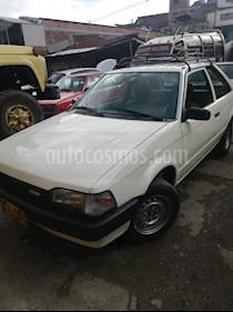 Foto venta Carro usado Mazda 323 Coupe 1300 (1990) color Blanco precio $6.500.000