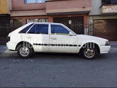 Foto venta Carro usado Mazda 323 hb (1992) color Blanco precio $5.300.000