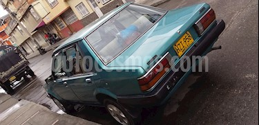 Foto venta Carro usado Mazda 323 NT 1500 (1985) color Verde precio $6.000.000