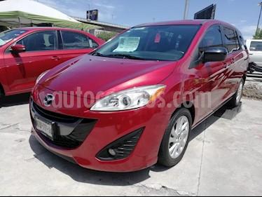 Foto venta Auto usado Mazda 5 1.8L Sport Aut (2015) color Rojo precio $189,000