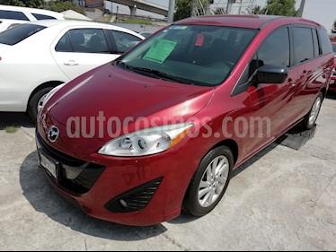 Foto Mazda 5 1.8L Sport Aut usado (2015) color Rojo Vivo precio $189,000