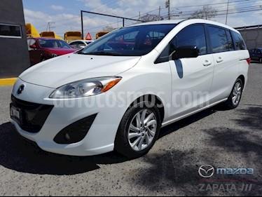 Foto venta Auto usado Mazda 5 1.8L Sport (2015) color Blanco precio $215,000