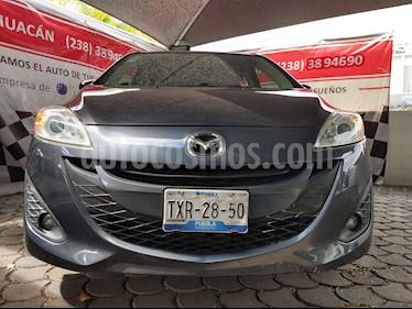 Foto Mazda 5 2.3L Sport Aut usado (2012) color Gris Galactico precio $155,000