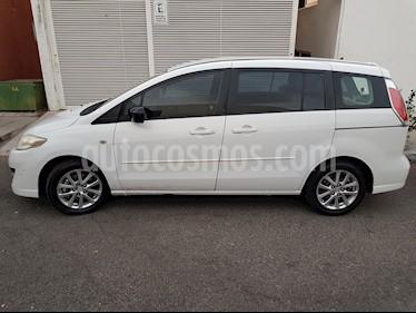 Mazda 5 2.3L Sport Aut usado (2008) color Blanco precio $92,500