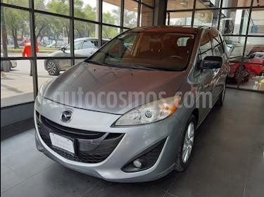 Foto venta Auto usado Mazda 5 2.3L Sport (2014) color Plata precio $169,000