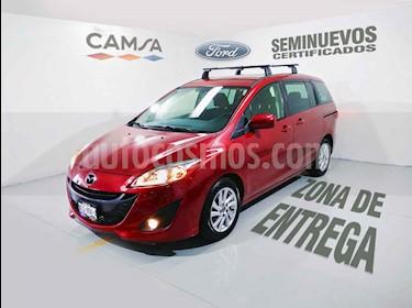 Foto venta Auto usado Mazda 5 2.5L Sport (2013) color Vino Tinto precio $173,900