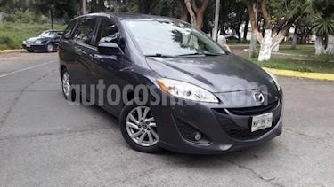Foto venta Auto usado Mazda 5 5p HB Sport L4/2.5 Aut (2014) color Gris precio $179,000