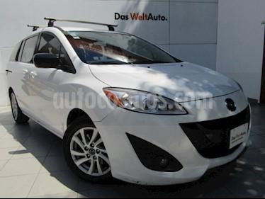 Mazda 5 2.5L Sport usado (2013) color Blanco Cristal precio $135,000