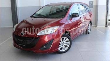 Mazda 5 5p HB Sport aut usado (2013) color Rojo precio $150,000