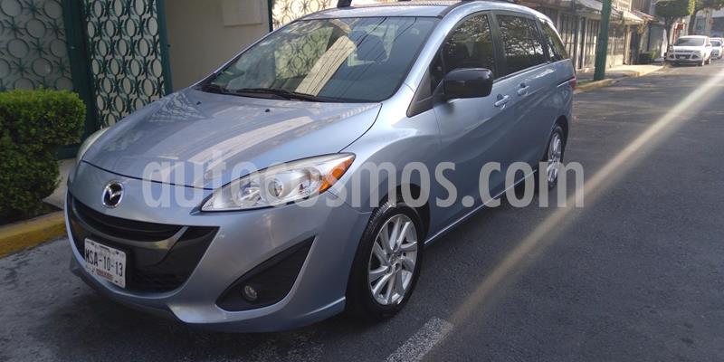 Mazda 5 2.5L Sport usado (2012) color Azul Agua precio $160,000