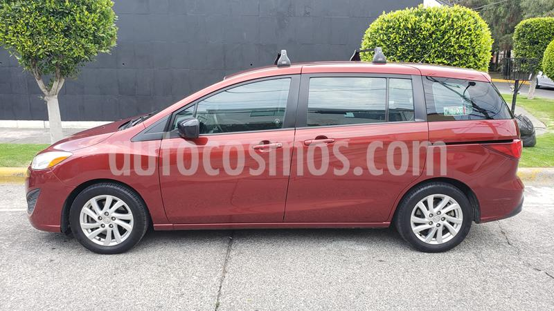 Mazda 5 2.5L Sport usado (2012) color Rojo Cobrizo precio $155,000