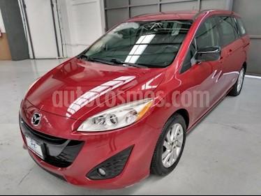 Mazda 5 5p HB Sport L4/2.5 Aut usado (2014) color Rojo precio $195,000