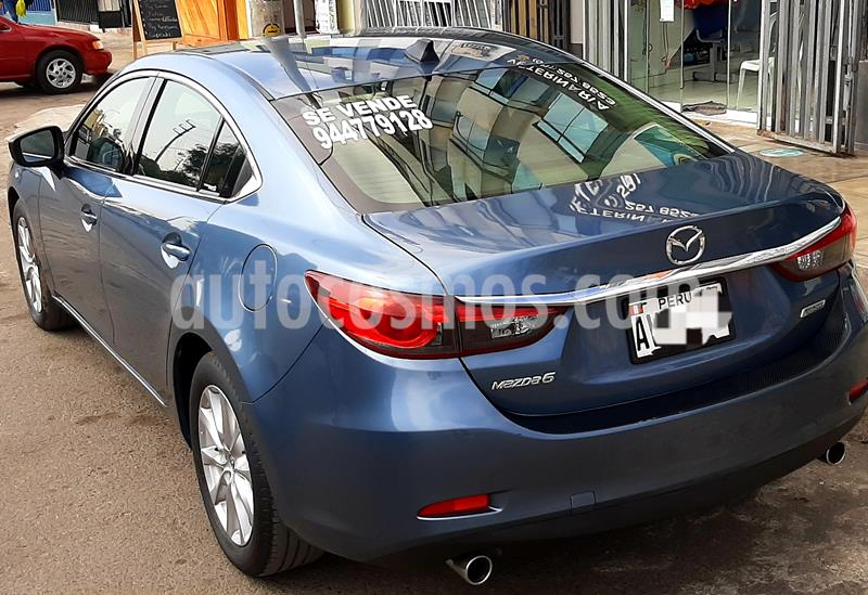 Mazda 6 Sedan 2.0L Core  usado (2016) color Azul precio u$s18,490