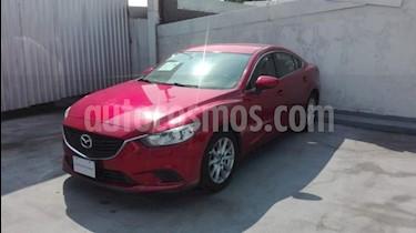 Mazda 6 4p i Grand Touring L4/2.5 Aut usado (2016) color Rojo precio $220,000