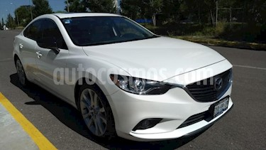 Mazda 6 4p i Grand Touring Plus L4/2.5 Aut usado (2014) color Blanco precio $205,000