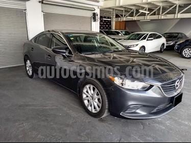 Foto venta Auto usado Mazda 6 4p i Sport L4/2.5 Aut (2015) color Gris precio $197,000