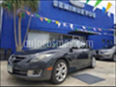 Mazda 6 4P S GRAND TOURING 3.7L AUT Q/C 6 C usado (2012) color Negro Obsidiana precio $155,000