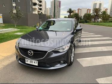 Mazda 6  2.0 V Aut Cuero usado (2014) color Plata Metalizado precio $7.900.000
