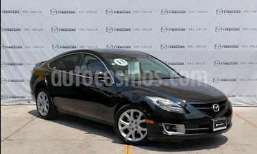 Foto venta Auto usado Mazda 6 i Grand Touring Aut (2013) color Negro Onix precio $195,000