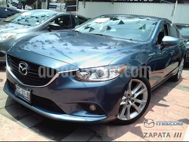 Foto venta Auto usado Mazda 6 i Grand Touring (2015) color Azul Acero precio $245,000