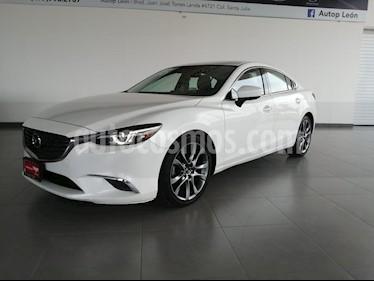 Mazda 6 i Grand Touring usado (2017) color Blanco precio $315,000
