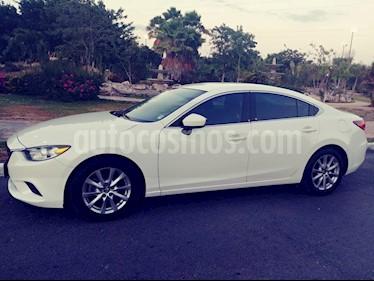 Mazda 6 i Sport Aut  usado (2015) color Blanco Techno precio $190,000