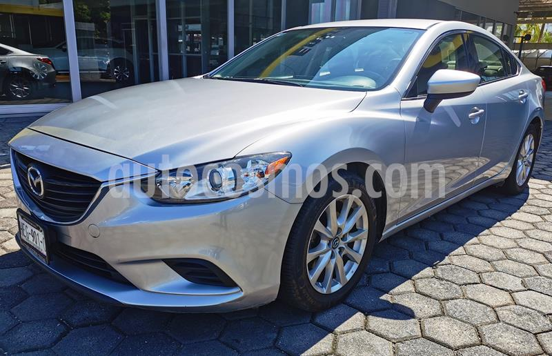 Mazda 6 i Sport Aut  usado (2016) color Plata precio $205,000