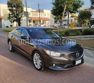 Mazda 6 i Grand Touring Aut usado (2015) color Gris precio $218,900