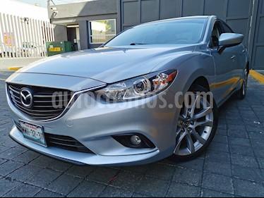 Mazda 6 i Grand Touring Aut usado (2016) color Gris Cometa precio $235,000