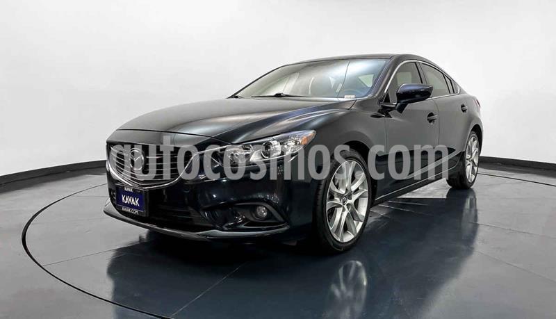 Mazda 6 i Grand Touring Aut usado (2017) color Negro precio $239,999