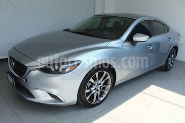 Mazda 6 4p i Grand Touring Plus L4/2.5 Aut usado (2016) color Gris precio $229,000