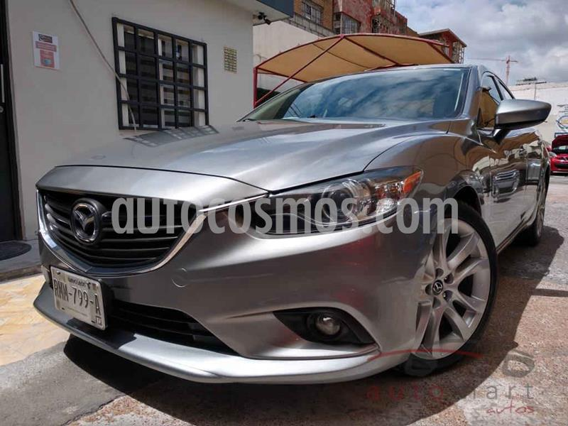 Mazda 6 i Grand Touring Plus usado (2014) color Plata precio $199,000