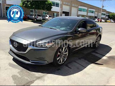 Mazda 6 4p Signature L4/2.5/T Aut usado (2019) color Gris precio $205,000
